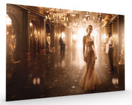 Gold Stretched Canvas