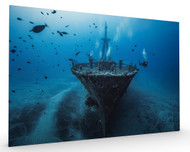 Hai Siang Wreck Stretched Canvas