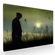 Late Autumn Walk Stretched Canvas