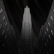 Gotham, Print, Canvas or Stretched Canvas