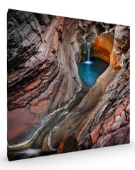 Spa Pool Hamersley Gorge, Stretched Canvas