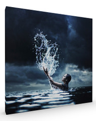 The Waterbender, Stretched Canvas