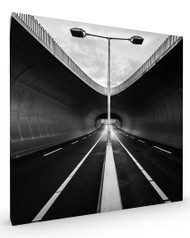 Tunnell, Architecture Stretched Canvas