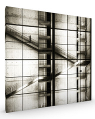 Untitled MB, Architecture Stretched Canvas