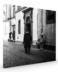 Untitled MDL, Street Scene Stretched Canvas