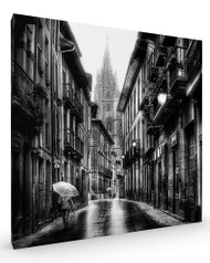 Vetusta, Street Scene Stretched Canvas