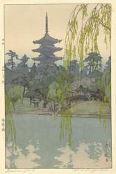 The Sarusawa Pond by Hiroshi Yoshida