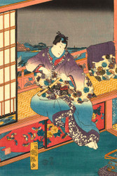 Flowers by Utagawa Kuniteru 1850 II