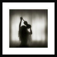 Framed La Maladie by Ileana Bosogea-Tudor
