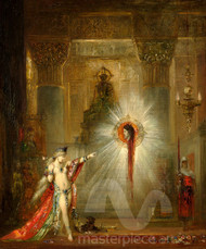 The Apparition by Gustave Moreau Premium Giclee Print