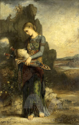 Orpheus by Gustave Moreau Premium Giclee Print