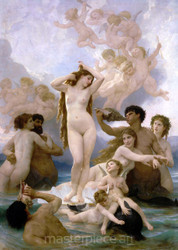 The Birth of Venus by William-Adolphe Bouguereau Premium Giclee Print