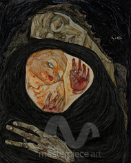 Dead Mother I by Egon Schiele Premium Giclee Print