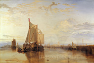 The Dort Packet-Boat from Rotterdam Becalmed by Joseph Mallord William Turner