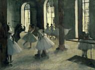 La Répétition au foyer de la danse by Edgar Degas Premium Giclee Print