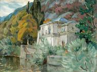 By Lago di Como by Anna Boberg Premium Giclee
