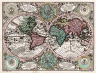 Vintage Map - Planisphaerium Coeleste 1756