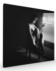 Stretched Canvas BW Mood by Zachar Rise