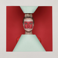 Art Print Red Squares by Sergey Smirnov