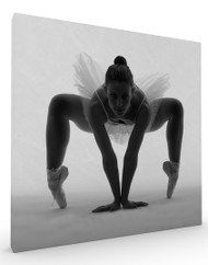 Stretched Canvas Ballerina by Edurd Crispi