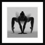 Wall Art Framed Ballerina by Edurd Crispi
