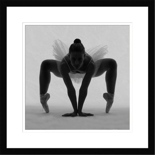 Wall Art Framed Ballerina by Edurd Crispi Premium Giclee