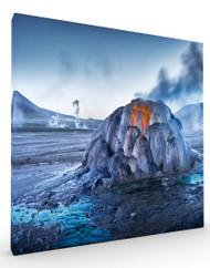 Stretched Canvas Landscape El Tatio by Ignacio Palacios