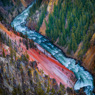 Landscape Print Grand Canyon Yellowstone by Ignacio Palacios