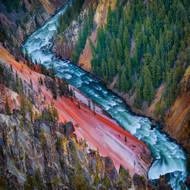 Landscape Print Grand Canyon Yellowstone by Ignacio Palacios