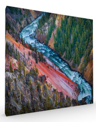Stretched Canvas Landscape Grand Canyon Yellowstone by Ignacio Palacios