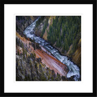Wall Art Framed Landscape Grand Canyon Yellowstone by Ignacio Palacios