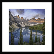 Wall Art Framed Landscape Lake Moraine by Ignacio Palacios
