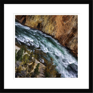 Wall Art Framed Landscape Yellowstone River by Ignacio Palacios
