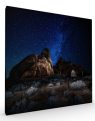 Stretched Canvas Landscape Rock Stars by Glenn Montroy