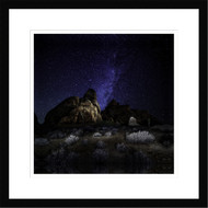 Wall Art Framed Landscape Rock Stars by Glenn Montroy