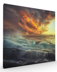 Stretched Canvas Delirium with Colors by Paolo Lazzarotti