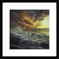 Wall Art Framed Delirium with Colors by Paolo Lazzarotti