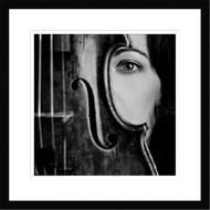 Wall Art Framed Vio by Oren Hayman