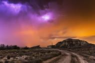 Bardenas Storm by Martin Zalba Landscape