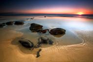 Coffee Rocks by Mel Brackstone Seascape