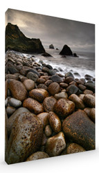 Stretched Canvas Stones by Raymond Hoffmann Art Print