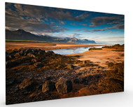 Stretched Canvas Night Lights by Raymond Hoffmann