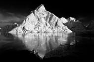 The White Mountain by Luca Liloni, Landscape Art Print