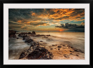 Angry Beach by Gunarto Song Seascape Framed Wall Art