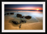 Coffee Rocks by Mel Brackstone Seascape Wall Art