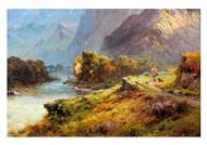 Glencoe by Alfred de Bréanski Landscape Premium Giclee