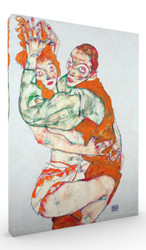 Lovemaking by Egon Schiele Wall Art