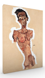 Nude Self Portrait by Egon Schiele Wall Art