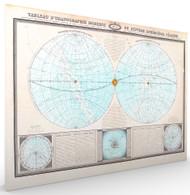 Tableau du Ranographie Moderne ou Systeme Spheroidal Celeste Stretched Canvas