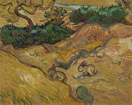 Landscape with Rabbits by Vincent van Gogh